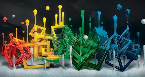 Color Cube Mix