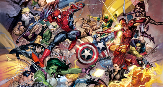 Best Artwork Of Superheroes From The Most Talented Comic Artists