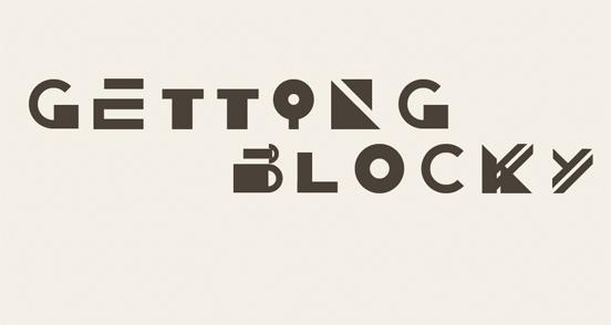 Getting Blocky