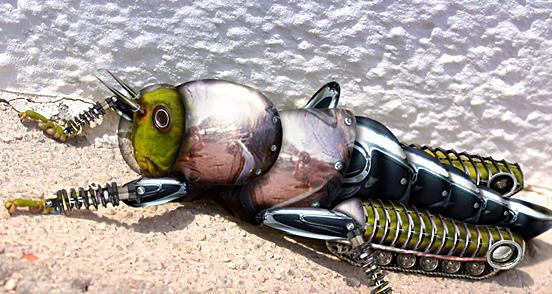 Mechanical Grasshoppe