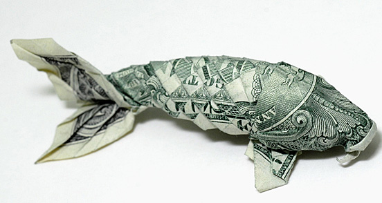 One dollar fish