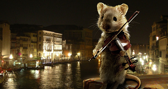 Mouse on the Rialto