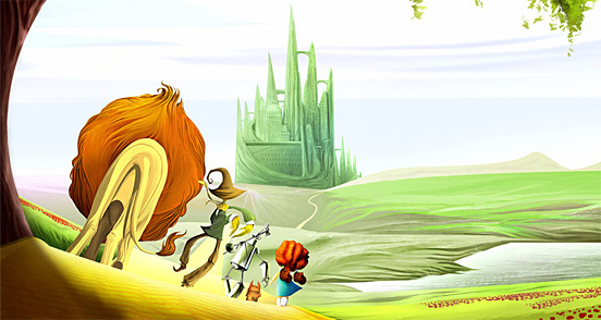 25 Various Styles Of The Wizard Of Oz Illustrations The Design