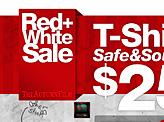 Red White Sale