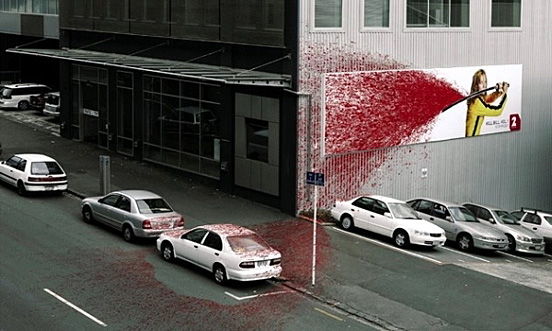Bloody Poster Killbill