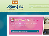 Show and Tell Sale