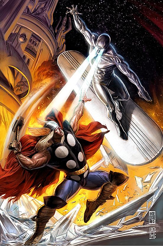 Thor VS Silver Surver