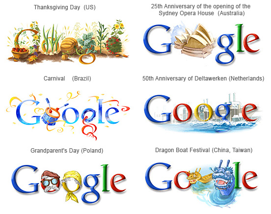 Google Country Doodles