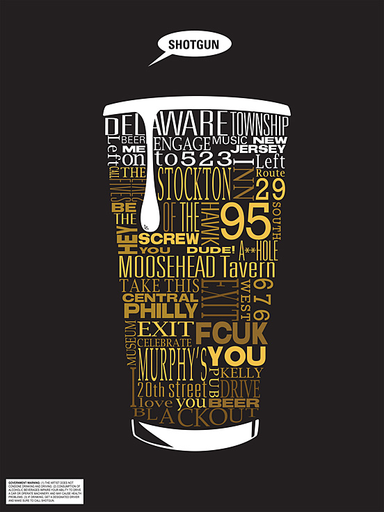 Typographic Beer