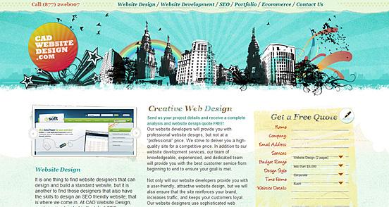 Cad Website Design