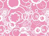 Pink Grungy Circles