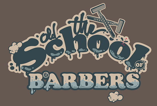 The old school of new barbers