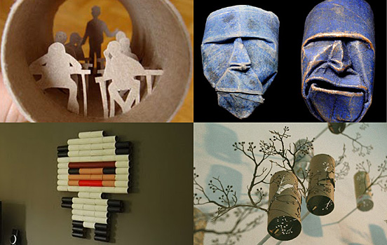 Toilet Roll Artworks Collection
