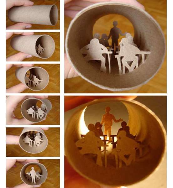 Toilet Roll Artwork