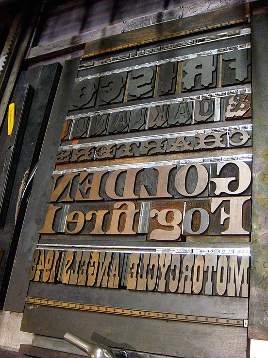 Dean wood type collection