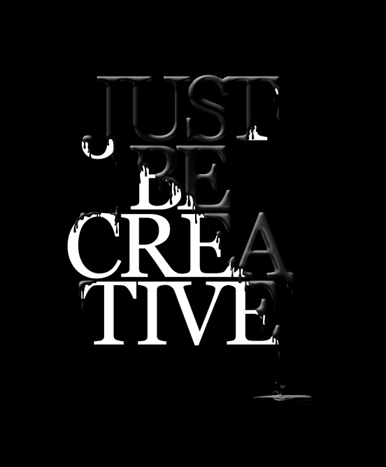 Just Be Creative