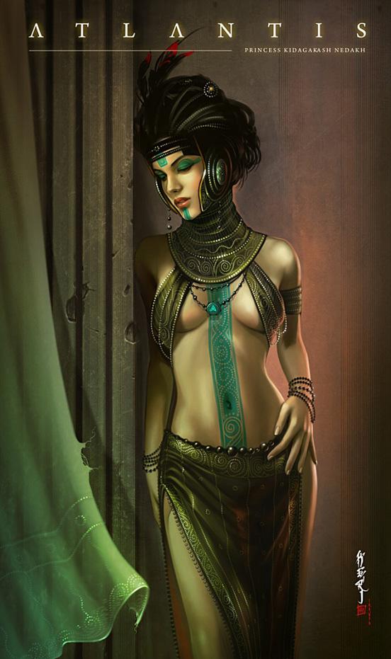 Atlantis Princess Kidagakash Nedakh