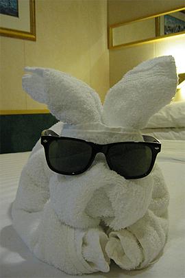 Towel Art