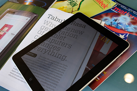 Transparent Screen iPad