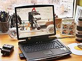 Transparent laptop