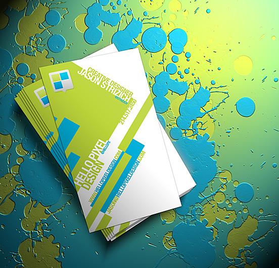 Business Card Concept Render