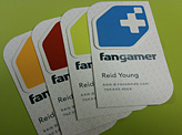 Fangamer business cards