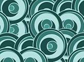 Green Funky Circles