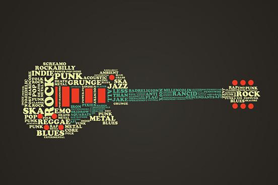 Guitar Music Art