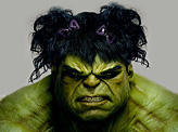 Bad Hair Hulk