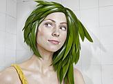 Greenery Hair