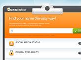 Name Checklist