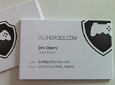 PS3Heroes Business Cards