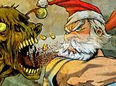 Santa against zombies