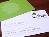Spitball Business Cards
