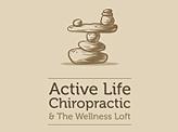 Active life chiropractic welness loft logo