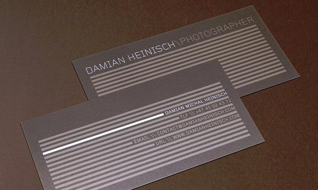 Damian Heinisch Business Card