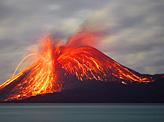 Eruption of Krakatau