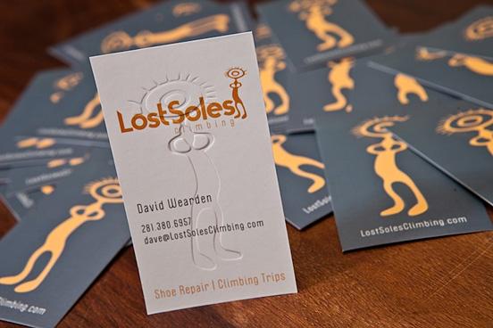 Lost Soles Biz Cards