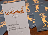 Lost Soles Biz Cards
