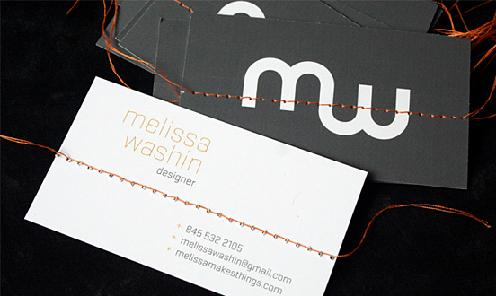 Melissa Washin Business Card