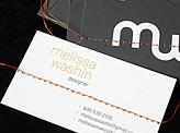 Melissa Washin Business Card