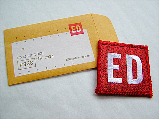 Sew on badges