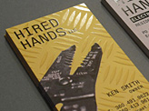 Hired Hands business card