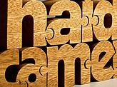 NuzzlesA Wooden Name Puzzles