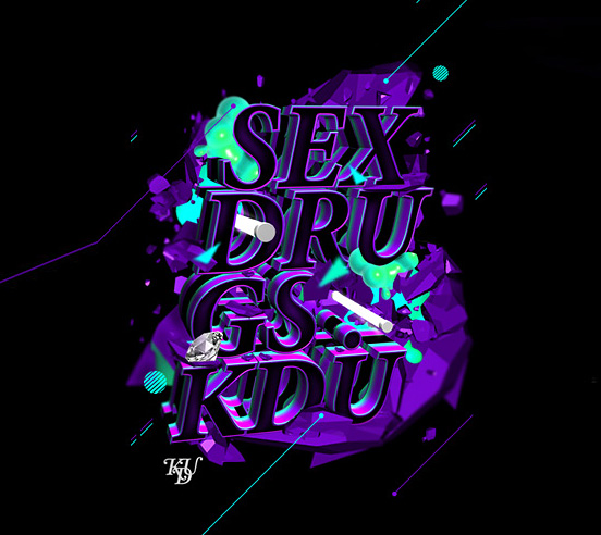SEX DRU GS KDU | Fonts Inspirations | The Design Inspiration