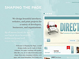 Shaping the Page
