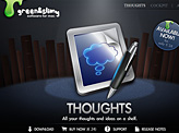 Thoughts App