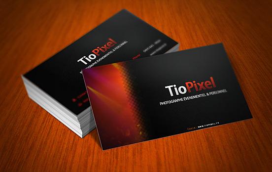 TioPixel Business Cards