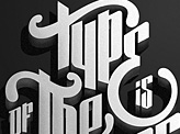 Type is of the essence