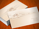 Antiques Business Card